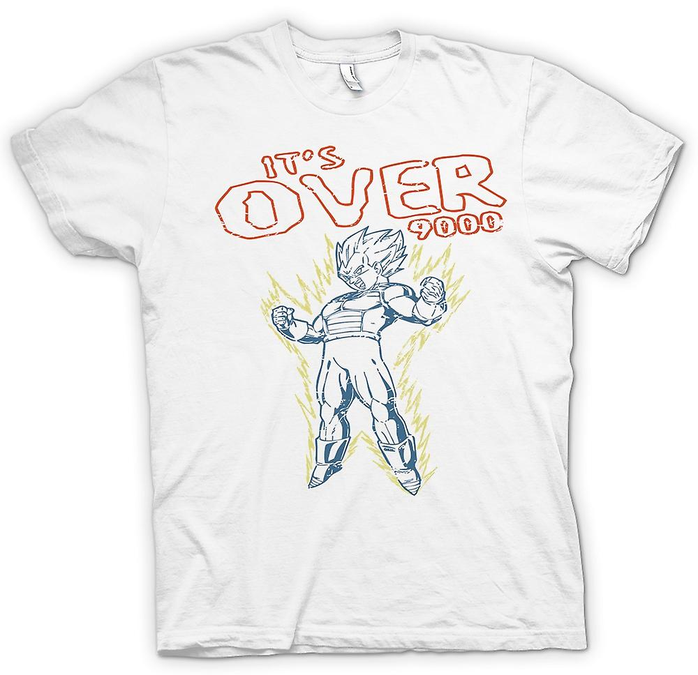 Womens T-shirt - Its Over 9000 - Dragonball - Super Saiyan