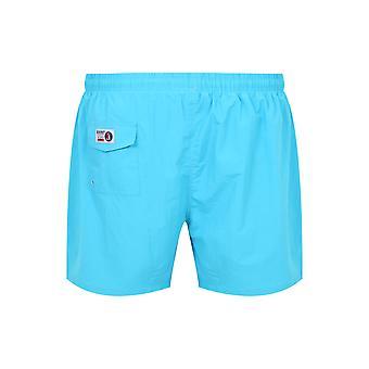 D555 Turquoise pleine longueur Swim Short