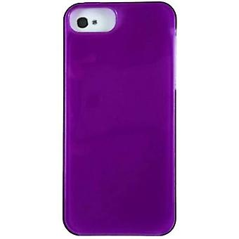 Verizon High Gloss Silicone Case for Apple iPhone 5/5s/SE - Purple