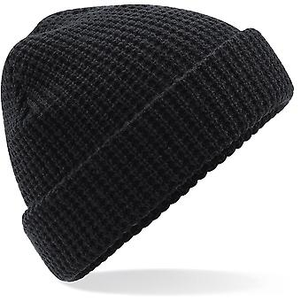 Beechfield - Classic Waffle Knit Beanie Hat