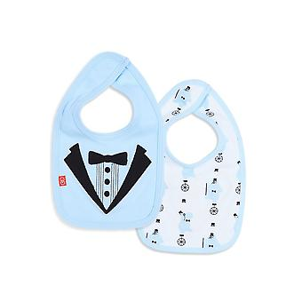 Magnetic Me™ by Magnificent Baby 100% Organic Cotton Magnetic Reversible Bib
