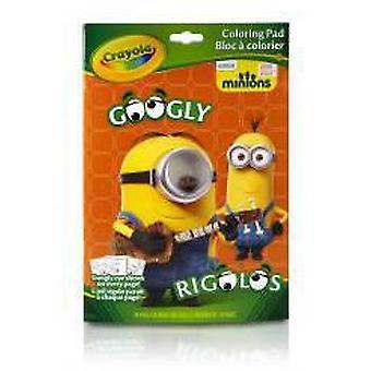 Crayola Malbuch Minions Lachsaugen (Babys und Kinder , Spielzeuge , Lehrsam Und Kreativ)