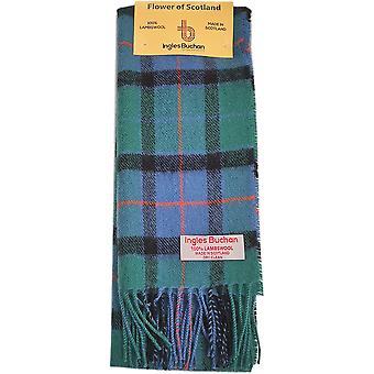 Lambswool Scarf - Flower of Scotland Tartan