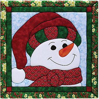 Snowman Quilt Magic Kit 12