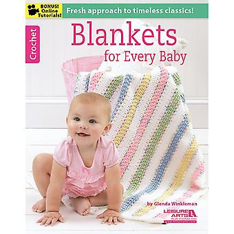 Leisure Arts-Blankets For Every Baby LA-6368
