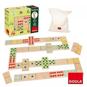 Goula Domino Topycolor (Toys , Boardgames , Traditionals)