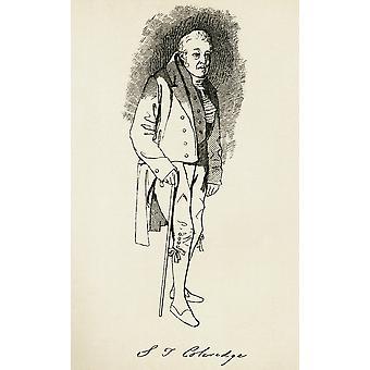 Samuel Taylor Coleridge 1772 PosterPrint