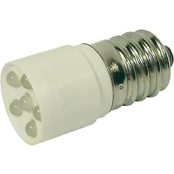 LED bulb E14 Cold white 24 Vdc, 24 Vac 1200 mcd CML