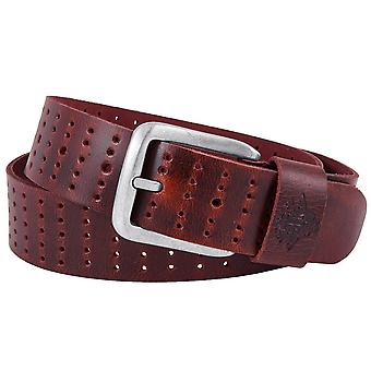 Billy the kid full leather belt with buckle M433-26