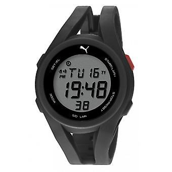 PUMA watch wrist watch unisex airy of black digital PU911131001