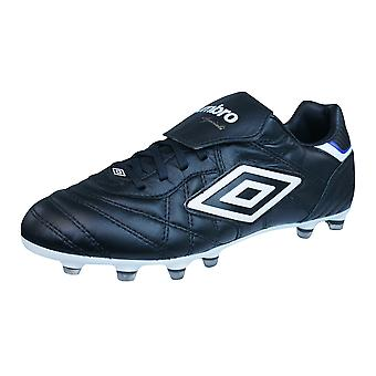 Umbro Speciali Eternal Pro HG Mens Leather Football Boots / Cleats - Black