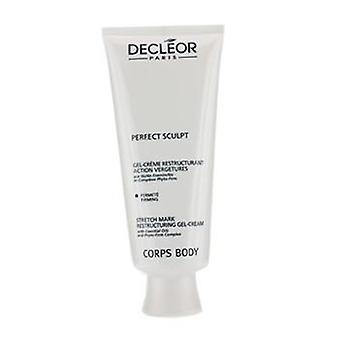 Decleor Perfect beeldhouwen - Stretch Mark herstructurering Gel crème (Salon grootte) - 200ml / 6,7 oz