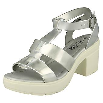 Ladies Spot on Casual Gladiator Style Sandals F10449