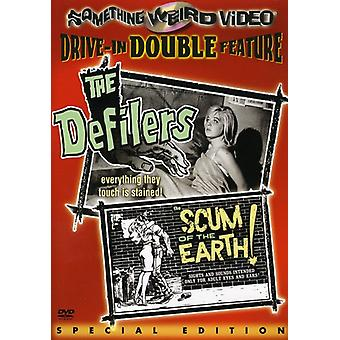 Defilers/Scum of the Earth [DVD] USA import