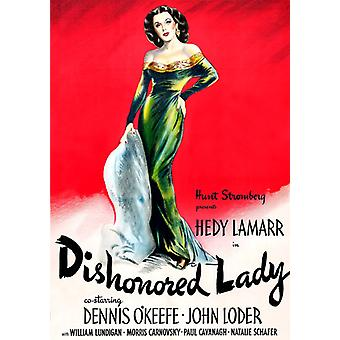 Dishonored Lady [DVD] USA import