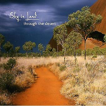 Sky in Land - Throught the Desert [CD] USA import