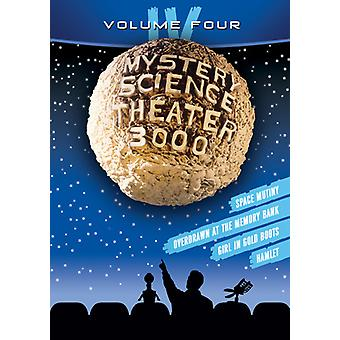 Mystery Science Theater 3000: Volym IV [DVD] USA import