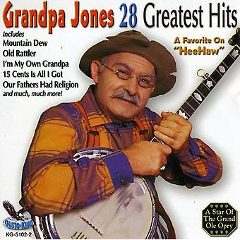 Grandpa Jones - 28 importazione USA Greatest Hits [CD]