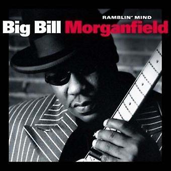 Big Bill Morganfield - Ramblin' sind [CD] USA importerer