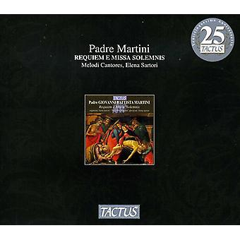 G.B. Martini - Martini: Requiem E Missa Solemnis [CD] USA import