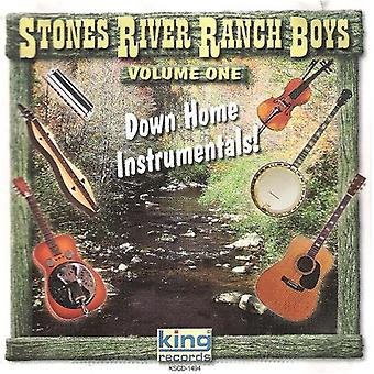 Stenarna River Ranch Boys - ner hem instrumentala [CD] USA import