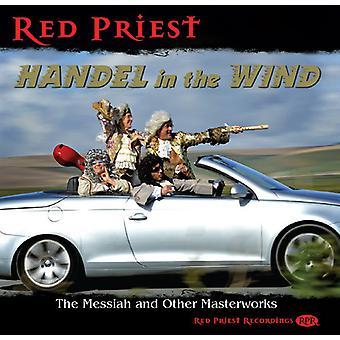 Händel / røde præst - Händel i vinden [CD] USA import