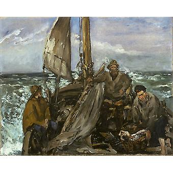 Edouard Manet - The Toilers of the Sea Poster Print Giclee