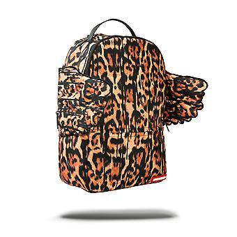 Sprayground Leopard Drip Wings Backpack