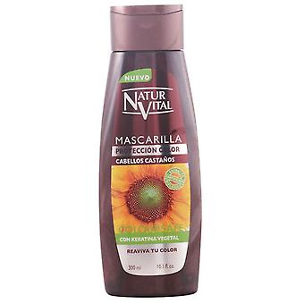 Naturaleza y Vida Coloursafe Mask Brown 300ml