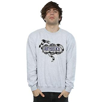 Beetlejuice Men's Sandworm Logo Sweatshirt