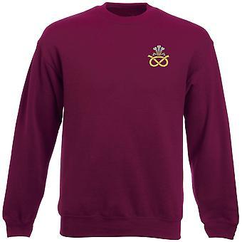 The Staffordshire Regiment Embroidered Logo - Official British Army Heavyweight Sweatshirt