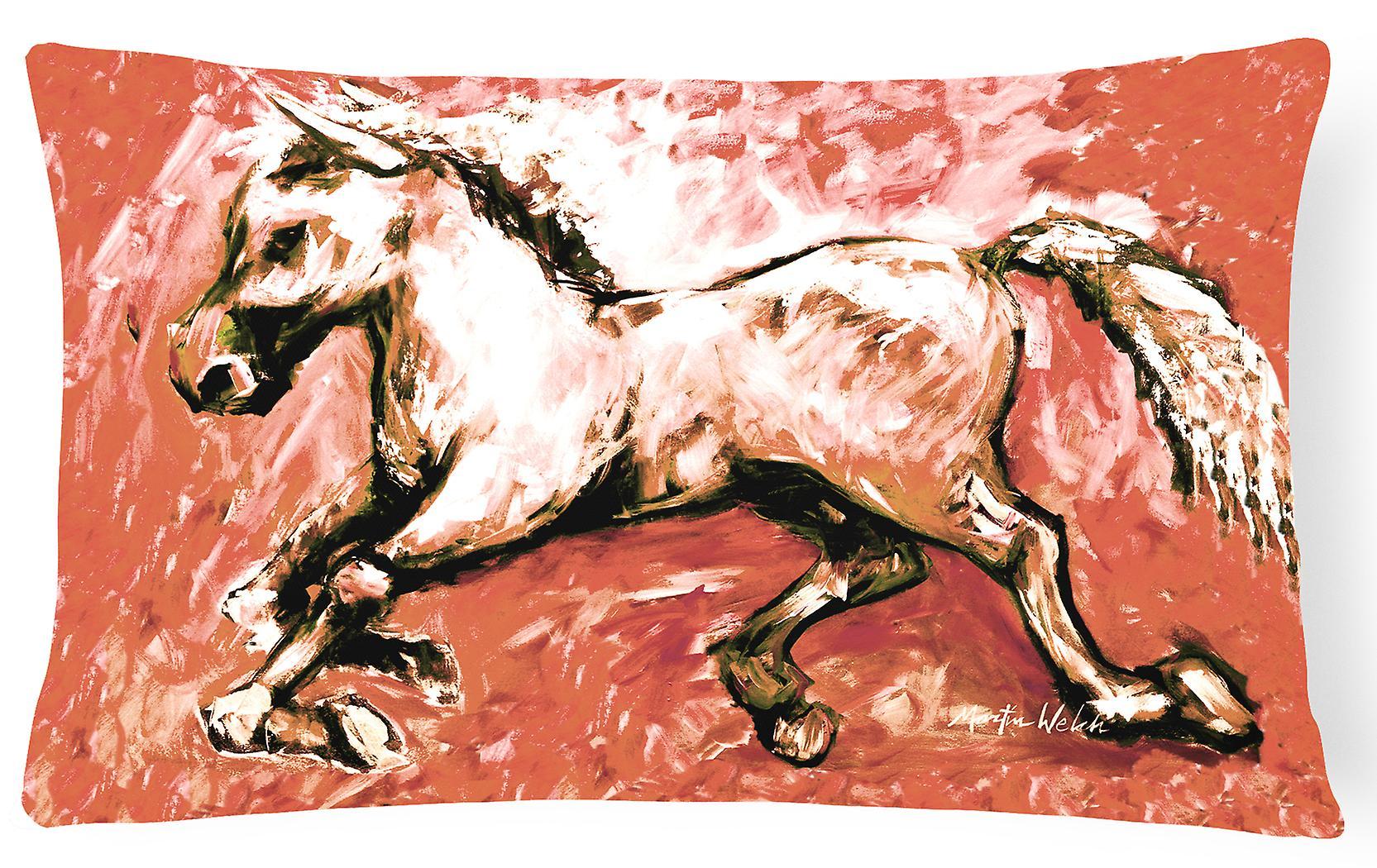 En Du Toile Ombre Rouge Décoratif Tissu Oreiller Cheval beWHIEDY29