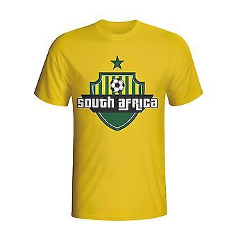 Zuid-Afrika land Logo T-shirt (geel)