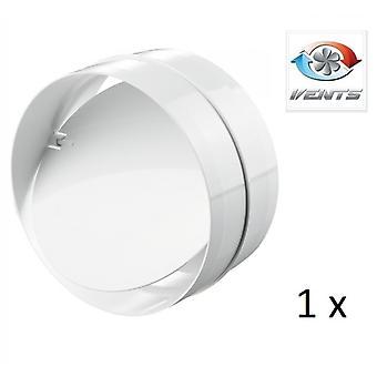 Backdraft Shutter / Coupler - For Ducting - (1 Pack) Fans - 125mm 5