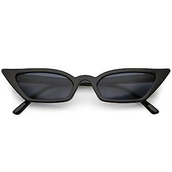 Óculos de sol lente olho de gato extrema fina retângulo do mulheres 47mm 603baa8a8d