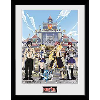 Fairy Tail säsong 1 nyckel konstsamlare Print 30x40cm