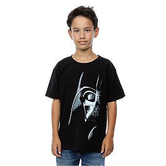 Star Wars Boys Darth Vader Face T-Shirt