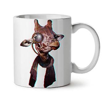 Jirafa enfriar estúpido té blanco nueva taza de café de cerámica 11 oz | Wellcoda