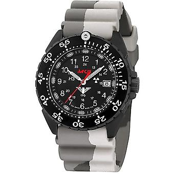 KHS horloges mens watch enforcer Zwarte titanium KHS. ENFBT. DC5