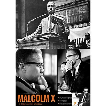 Malcolm X Poster Human Rights Activist Black History Photos Print (18x24)