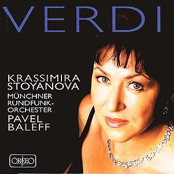 Verdi - Arias [CD] USA import