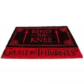 Game of Thrones Doormat Bend The Knee
