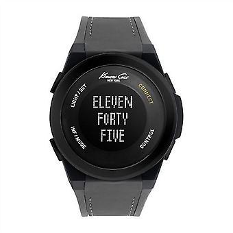 Kenneth Cole New York Unisex-Armbanduhr Smartwatch Silikon 10022806