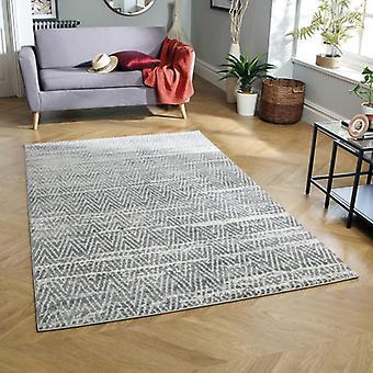 Topaz Weavers 522 E Grey  Rectangle Rugs Modern Rugs