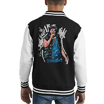 Sidney Maurer Original Portrait Of Jay Z Gilet Kid's Varsity Jacket