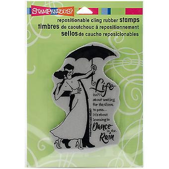 Stampendous Cling stempel 4,75