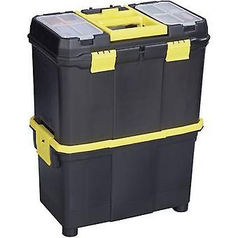 Tool box Alutec 56350 Plastic Black, Yellow