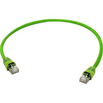 Telegärtner RJ45 Networks Cable CAT 5 SF/UTP 5 m Yellow-green