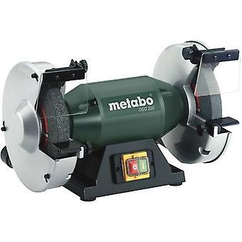 Doble rueda Banco amoladora 750 W 200 mm Metabo DSD 200 619201000