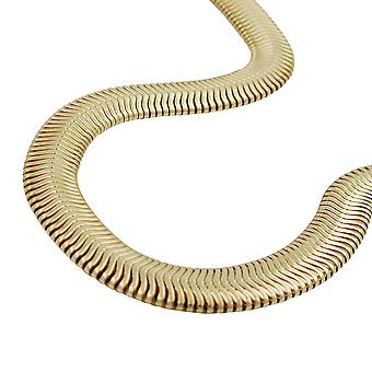 Serpente 6x2mm catena color oro placcato AMD 55cm
